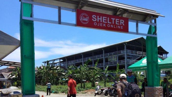 shelter ojek online