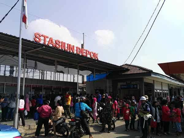 stasiun depok lama